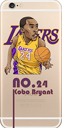 NBA Player Cartoon TPU Soft Case für Apple iPhone 6/6S KOBO BRYANT