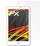atFolix Folie für Acer Iconia Tab 8 W (W1-810) Displayschutzfolie - 2 x FX-Antireflex-HD hochauflösende entspiegelnde Schutzfolie