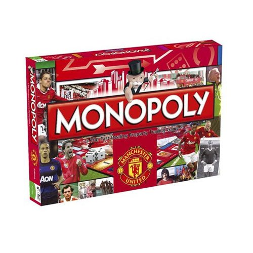 Manchester United Football Monopoly board game