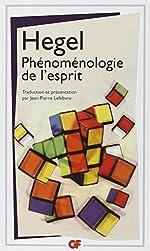 Phénoménologie de l'esprit de Georg Wilhelm Friedrich Hegel