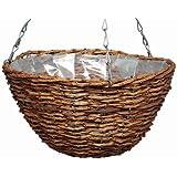 Gardman 12-inch Rustic Hanging Basket