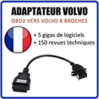 MISTER DIAGNOSTIC Adaptador Volvo 8 Pines a OBD2