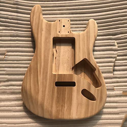 Banbie8409 Gitarrenkörper, Unfinished DIY Gitarre Korpus Ahorn Körper für Fender ST-Gitarre
