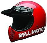 Bell Cruiser 2017Moto 3Helm für Erwachsene, klassisches rot, L