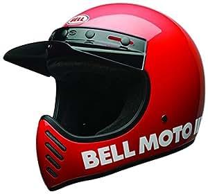 Bell casques Cruiser 2017Moto 3casque pour adulte, Rouge classique, taille Medium