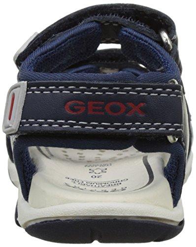 Geox B Sandal Agasim Boy A, Chaussures Marche Bébé Garçon Bleu (NAVY/WHITEC4211)