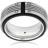 FOSSIL Anello da uomo in acciaio inox JF83553040