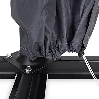 Purovi® Premium Ampelschirm Abdeckung | Sonnenschirm Ampel Schutzhülle aus Oxford Gewebe 420D | Wasserdicht mit Reisverschluss | UV-Beständig von Purovi auf Gartenmöbel von Du und Dein Garten