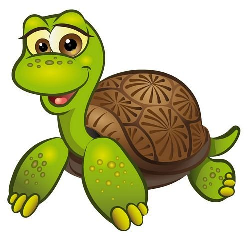 (Autoaufkleber Sticker Schildkröte liegend Aufkleber)