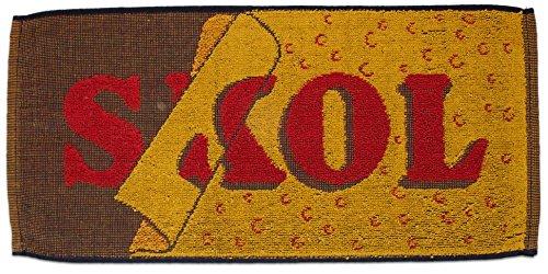 skol-lager-yellow-british-pub-bar-towel