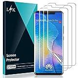 L ?K 3-pack skärmskydd för Huawei Mate 20 Pro - HD klar flexibel premium TPU-film inte glasfodral vänlig bubbelfri inga lyfta