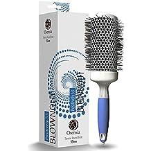 Cepillo redondo PRO para secador - Cepillo de pelo redondo grande - Cepillo cerámico ionico -