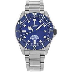 Tudor pelagos Azul Dial Automático Mens Reloj 25600tb-blrs