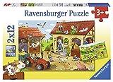 Ravensburger 07560 -Fleißig auf dem Bauernhof