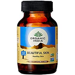 Organic India Beautiful Skin - 60 Capsules Bottle