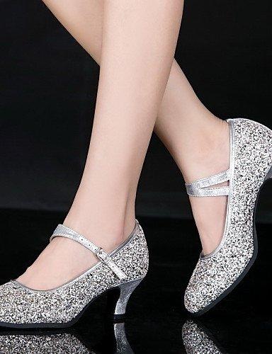 La mode moderne Non Sandales femmes personnalisables en cuir/chaussures de danse en cuir en cuir de brevet brevet/HeelProfessional cubain moderne en cuir avec talons/Outdoor / US5.5/EU36/UK3.5/CN35