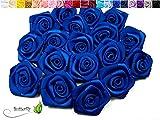 ZUNTO blau rosen Haken Selbstklebend Bad und Küche Handtuchhalter Kleiderhaken Ohne Bohren 4 Stück