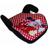 Kaufmann MI-KFZ-060 - Alzador de asiento de coche, diseño de Minnie Mouse, color rojo