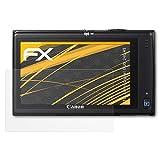 atFoliX Schutzfolie für Canon Digital IXUS 240 HS/PowerShot ELPH 320 Displayschutzfolie - 3 x FX-Antireflex blendfreie Folie