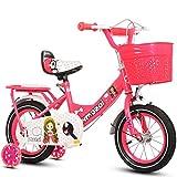 Defect Kinder Fahrrad Weibliches Baby Bike mit Rückenlehne 2-10-jährige Prinzessin Auto rosa/Pink/lila Fahrrad