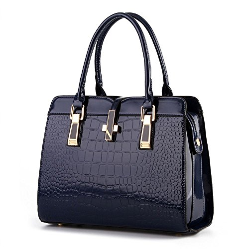 koson-man-mujer-moderno-piel-sinttica-vintage-tote-bolsas-asa-superior-bolso-de-mano-azul-marino-azu