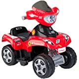 Feber 800006762 - Quad Ferrari 6 V - Elektrofahrzeug