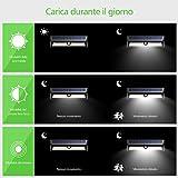 Lampada Solare 77 LED con Sensore di Movimento Mpow - immagine 2