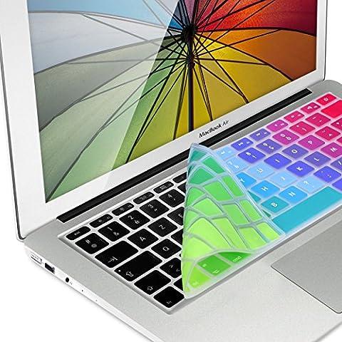 Protection Mac Book Pro 13 - kwmobile protection clavier en silicone AZERTY (France,