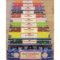 Satya Sai Baba / Nag Champa variety carton of mixed incense & - 12 x 15grm bo... preisvergleich bei billige-tabletten.eu
