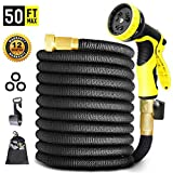 Best Hose 100 Feet Extra Durables - Hose Pipe Magic Hose black 50FT Stronger Double Review