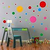 Best Peel For Sun Spots - iwallsticker Polka Dots Spots Wall Stickers 91 pcs Review