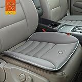 EchoSari Steißbein Pflege Memory Foam Sitzkissen Antiskid Cushion Hochwertige Gewebe Sitzpolster in Reisen/Büro/Haus/Auto (Grau)