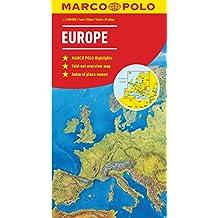 Europe Marco Polo Map (Marco Polo Maps)