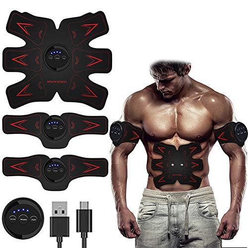 EMS Estimulador Muscular, Entrenamiento de estimulación muscular EMS, Cintura/Pierna/Brazo/Buttock,con...