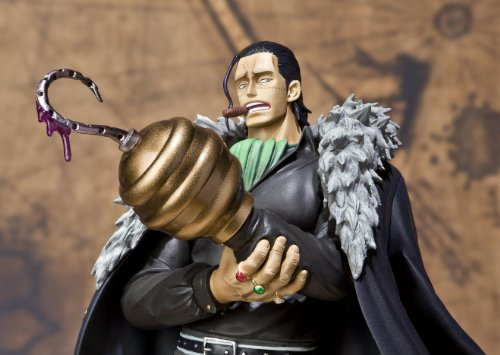 "Bandai Tamashii Nations Figuarts Zero Crocodile ""One Piece"" (Static Figure) (japan import) 6"