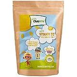 CLUB Vits enfants - Vitamine D3 10ug - 1000 à croquer Naturel Arôme de framboise comprimés