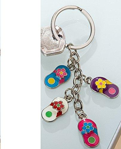 GILDE Schlüsselanhänger 4 Flip-Flops