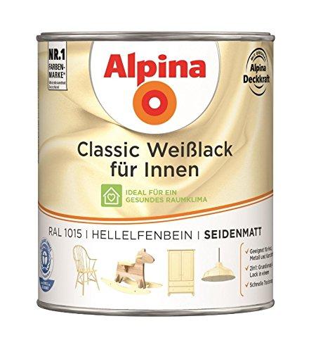 Acryl-Weißlack  <strong>Wetterschutz</strong>   Wetterbeständig, Vergilbungsbeständig