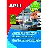 Apli 3051 - Etiquetas, 100 hojas