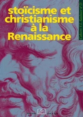 Stoïcisme et christianisme à la Renaissance