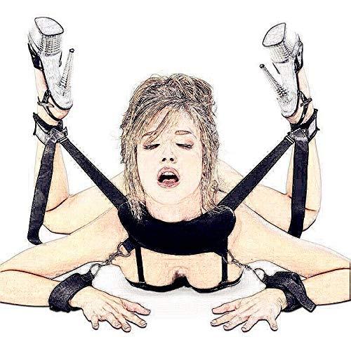 SJAKMA Unterwäsche,Babydoll Dessous Sexy Heiße Erotische Handschellen Für Prono Sex Spielzeug Knöchel Manschette Für Frau Open Leg Sexy Kostüme Exotische Bekleidung