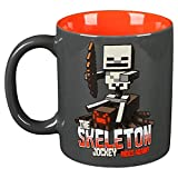 Minecraft Tasse Skeleton Jockey 325ml Keramik grau rot