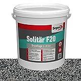 Sopro Designfuge Solitär F20 Pflasterfugenmörtel (25 kg, Pflastergrau)