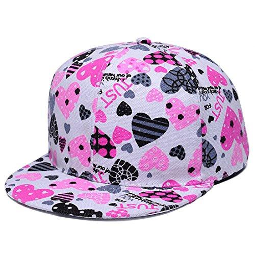 Kuyou - Casquette de Baseball - Femme bleu Rosa taille unique Liebe Rosa (Pink)