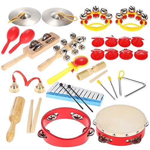 Shanyaid Sicherheit Percussion Set Kinder Kinder Kleinkinder Musikspielzeug Instrumente