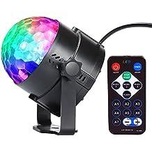 InnooLight Bola Discoteca Fiesta Magica 7 Colores RGB LED