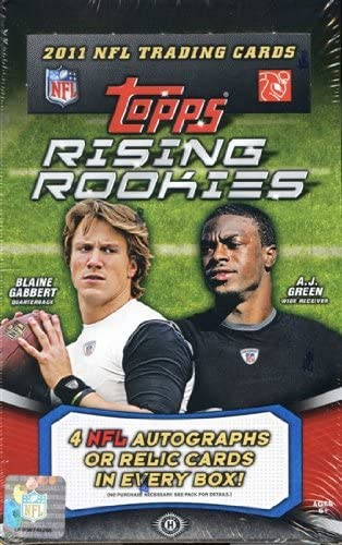 Topps 2011 Football Football Football rising Rookies hobby box B0054D7UVA Parent | Stravagante  | Special Compro  | Bel Colore  a8d263