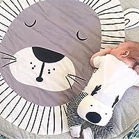 Baumwolle Krabbeldecke groß und weich gepolstert 90 x 90cm für Baby Kinder preisvergleich bei kleinkindspielzeugpreise.eu