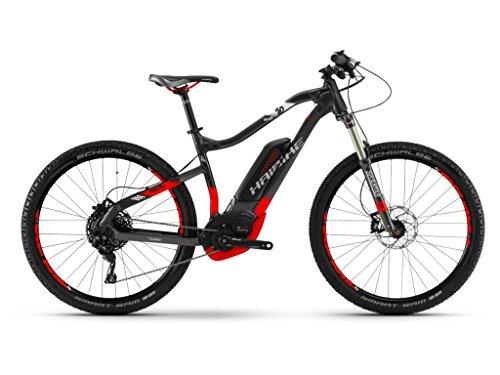 Haibike SDURO HardSeven 6.0 Bosch Elektro Fahrrad 2018 (M/45cm, Anthrazit/Rot/Weiß)
