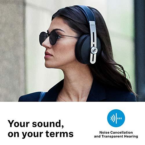 Sennheiser Momentum Wireless Kopfhörer (mit Geräuschunterdrückung, automatischer Ein-/Ausschaltung, Smart-Pause-Funktion und Smart Control App) - 3
